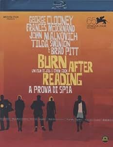 Burn after reading - A prova di spia [Blu-ray] [IT Import]
