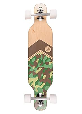 Pelican Rincon All-Round Longboard - Drop-Through Skateboard zum cruisen