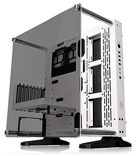 Thermaltake Thermaltake Core gehärtetem Glas ATX offener Rahmen Panorama betrachten TT LCS Zertifiziert Gaming Computer Fall Fällen ca schneeweiß