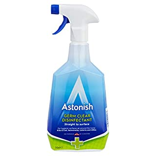 Astonish 4 in 1 Germ Killer Disinfectant Spray 750 ml (Pack of 12)