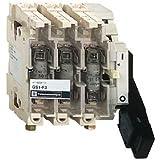 Schneider Electric GS1KD3 Bloque de Base Interruptor - Seccionador Fusible GS1, 3P, 3F Contacto, NFC Fusible, 125 A, 690 V