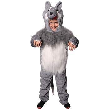 boys girls animal costume fancy dress book week donkey fox wolf age 8 9 10