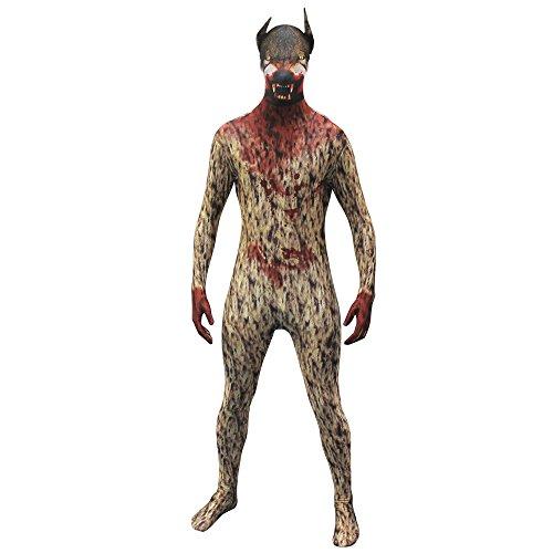 Werwolf Kostüm Morphsuit - Werwolf Kostüme