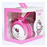 Toy4Pick Cute Hello Kitty Headphones with Mic bests audifonos Gamer mic Headset Stereo Head Phones for iPhone Samsung xiaomi HTC