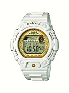 Casio Baby-G Damen-Armbanduhr Weiss BLX-100-7BER