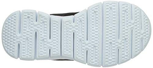 Skechers ALISTER - Zapatillas de deporte para niñas, Negro (BKMT), 27