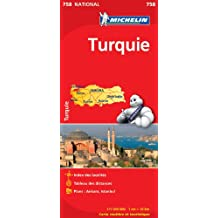 Carte NATIONAL Turquie