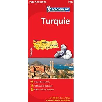 Carte NATIONAL Turquie