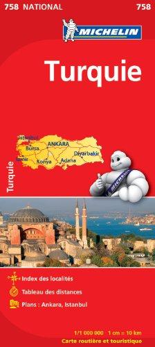 Carte NATIONAL Turquie par Collectif Michelin
