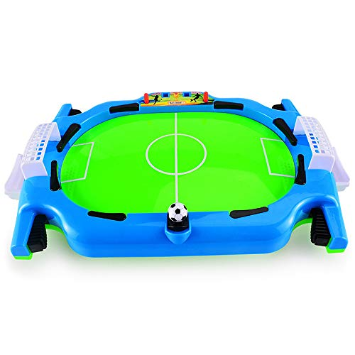 Wuxi Chuannan Mini Football Game Tabletop Arcade Game,Portable Mini Table Soccer Game Set with Two Balls,Best Interactive Desktop Game for Kids and Adults