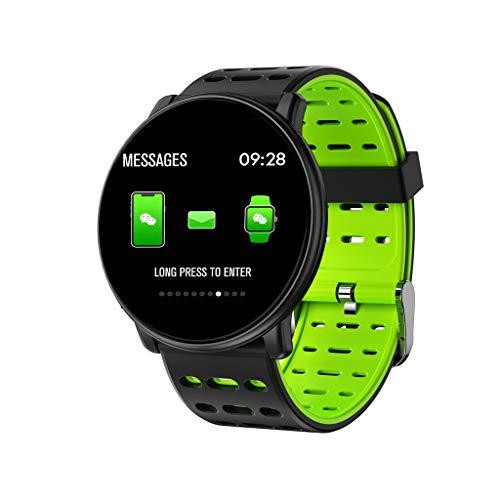 LINSINCH Smart Watches Q88 Herzfrequenz Schlafüberwachung Sport Blau Zahnarmband Fitness (Verkaufs-diamant-ohrringe)
