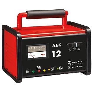 97009 Werkstatt-Ladegerät WM 12 Ampere für 6 und 12 V Batterien, CE, IP 20