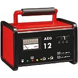 AEG 97009 Werkstatt-Ladegerät WM 12 Ampere für 6 und 12 V Batterien, CE, IP 20