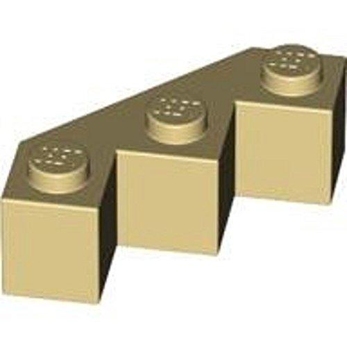 Preisvergleich Produktbild LEGO Castle - 10 Facettenstein / Winkel gezackt / Burgecken mit 1x4 Noppen in beige / tan / sandfarben für Burg Festungen