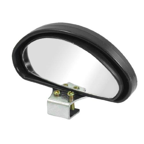sourcingmap® Auto schwarzes Gehäuse Weitwinkel Bogen Blind Spot Spiegel 100mmx45mm (Spot-bogen)