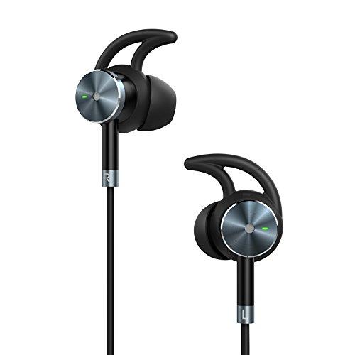 TaoTronics Noise Cancelling Kopfhörer Ear Ohrhörer Active Rauschunterdrückung, kabelgebundene Kopfhörer ANC, 15 Stunden Wiedergabedauer geräuschunterdrückende Kopfhörer mit Mikrofon