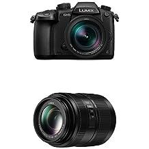 Panasonic DC-GH5LEB-K Lumix G Compact System Camera with H-FSA45200E 45 - 200 mm LUMIX G VARIO Lens Bundle
