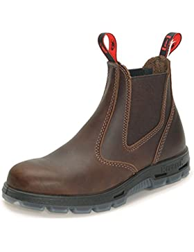 Redback UBJK - original australische Work Boots - Unisex   Jarrah-Brown