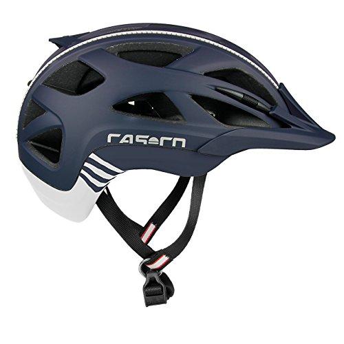 Casco Erwachsene Active 2 Fahrradhelm, Mehrfarbig (mehrfarbig (marine-weiß)), L (58-62 cm)