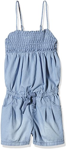 Name It Skybea-Tuta unica Bambina, Azul (Light Blue Denim Light Blue Denim), 8 anni