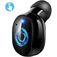 VICTSING Mini Auricular Bluetooth Inalámbrico, Control Táctil, Invisible Mini Bluetooth 4.2 Earbud, 6 Horas de Reproducción, Micrófono incorporado, Con USB Magnéticos Manos Libres para Coche y Huawei Xiaomi Sony HTC, etc.