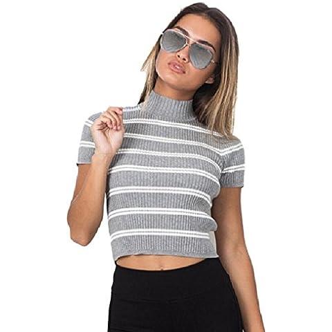 Culater® Las mujeres del tirante de espagueti del hombro ocasionales camisa de la blusa Tops (Tamaño libre,
