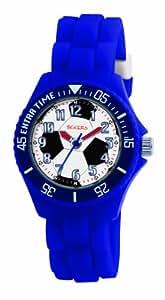 Tikkers Jungen-Armbanduhr Analog Plastik weiss TK0025