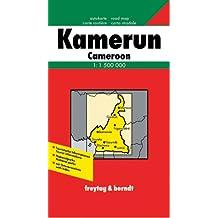 Carte routière : Kamerun