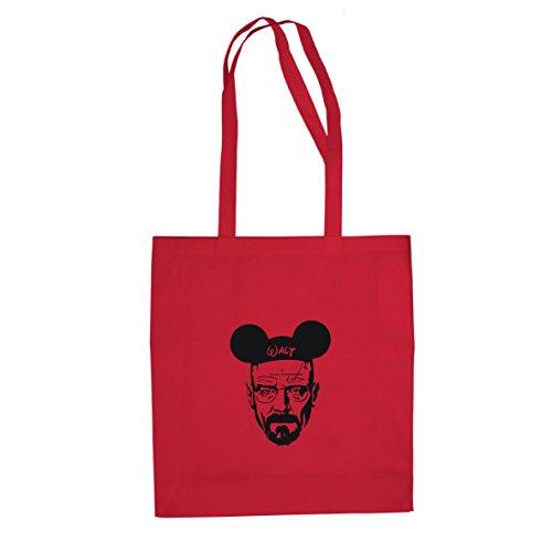 Mickey Walt - Stofftasche / Beutel Rot