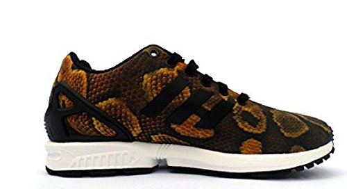 Adidas ZX Flux Damen Sneaker Python Brown