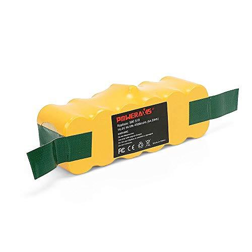 BAKTH Batterie de Ni-MH 4500mAh pour Aspirateur iRobot Roomba 500 600 700 800 510 530 532 535 540 545 550 552 560 562 570 580 581 582 585 595 600 620 630 631 650 660 700 760 770 780 790 800 870 880 R3