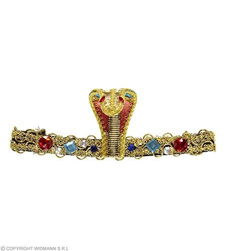 Snake Erwachsene Für Kostüm Eyes - Widmann wdm05906-Kostüm für Erwachsene Stirnband Ägyptische Schlange mit G, mehrfarbig, Einheitsgröße