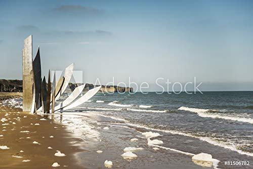 otiv: Omaha Beach #81506782 - Bild als Foto-Poster - 3:2-60 x 40 cm / 40 x 60 cm ()
