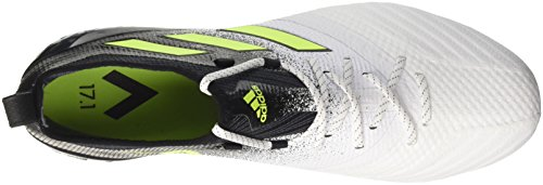 adidas Ace 17.1 SG, Chaussures de Football Homme Blanc (Footwear White/solar Yellow/core Black)