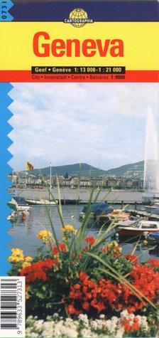 Genève. : 1/21 000 (Plans) por Collectif