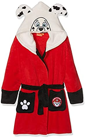 Nickelodeon Paw Patrol Pup Head, Robe de Chambre Garçon, Red, 2-3 Ans