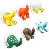 WYFC 6X lindo animal de la historieta gancho de cola traza lechón gancho de la toalla que cuelga / Gancho Clave (color al azar)