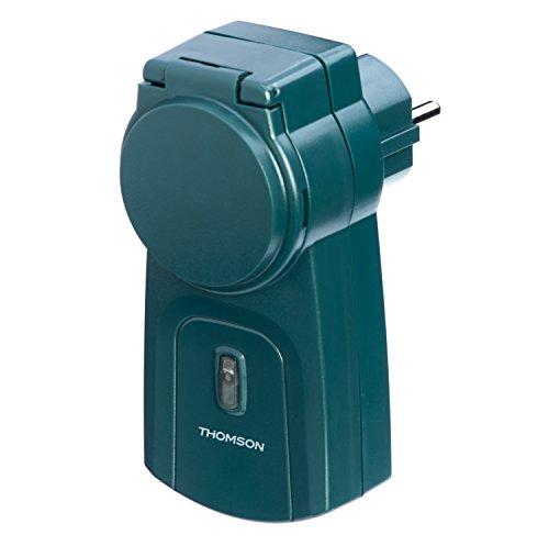 Avidsen 500146 Funkgesteuerte Steckdose für die Außenbeleuchtung grün