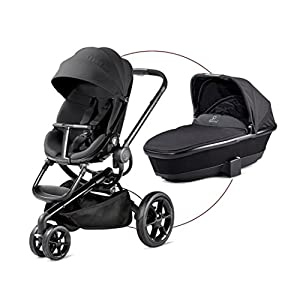 Quinny Moodd - Pushchair - Carrycot For Free - Black Devotion   3