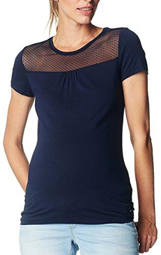 Esprit Maternity Ss Q84754, T-Shirt Femme Blau (Night Blue 486)