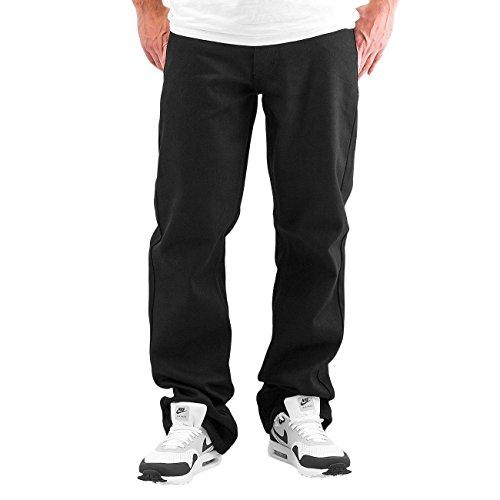 Rocawear Herren Jeans / Loose Fit Jeans Mirror Schwarz
