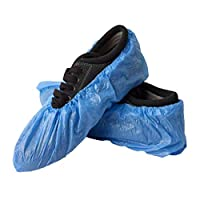 Overshoes Disposable Waterproof Protection Shoe Covers for Home Garden Outdoor, 100PCS