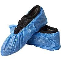Cubiertas de protección impermeable para zapatos de casa, jardín, al aire libre, 100 unidades