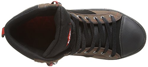Lee Cooper Workwear 022, Herren Sicherheitsstiefel Braun (Brown/Black)