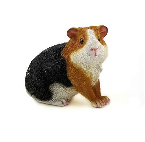 KLP Meerschweinchen Deko Garten Meerschwein Schwein Tier Figur Skulptur Tierfigur (Schaf Oder Ziege Figur)