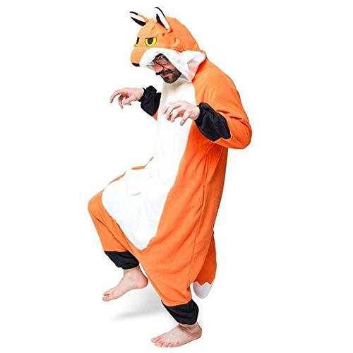 DUKUNKUN Tierische Erwachsene Pyjamas Halloween-Familien-Party-Halloween-Kostüme Karikatur-Party Weihnachten,S