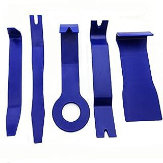 vientiane 5 Stück Trimmwerkzeuge Zum Entfernen Auto Tür Clip Panel Trim Removal Tool Kits für Auto Dash Radio Audio Installer-Verschiedene Formen