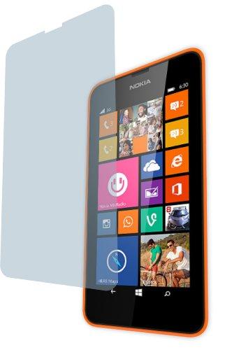 Nokia Lumia 630 (2 Stück) Premium Bildschirmschutzfolie Displayschutzfolie ANTIREFLEX von 4ProTec - Kratzfest UND PASSGENAU