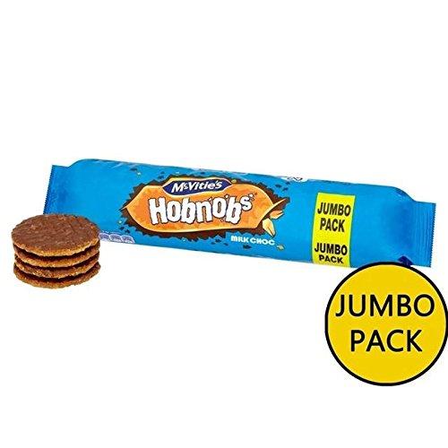mcvitie' S Schokolade Hobnob Jumbo Packung 431G von McVitie (6Stück)