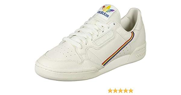 adidas Originals Sneaker Continental 80 Pride EF2318 Weiß Beige,  Schuhgröße:39 1/3